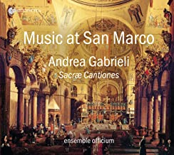 Music at San Marco - Andrea Gabrieli: Sacrae Cantiones