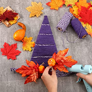 Witch Hat Metal Wreath Frame Halloween Witch Hat Shaped Wreath Form DIY Hanging Witch Hat Frame for Crafting Centerpiece Hall