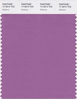 PANTONE Smart 17-3014X Color Swatch Card, Mulberry