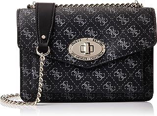 GUESS Womens Convertible Crossbody Bag, Coal - SG743721