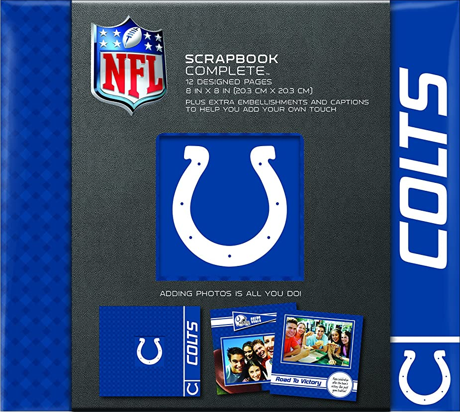 C.R. Gibson Scrapbook Complete Kit, Small, Indianapolis Colts ? (N861626M) nndddt8222027