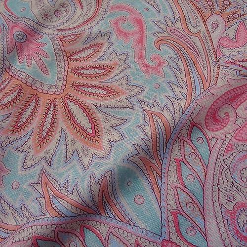 f7f81ce47a0 Summer Pastel Fresh Viscose Jersey Fabric Material Craft Textile Art Stretch
