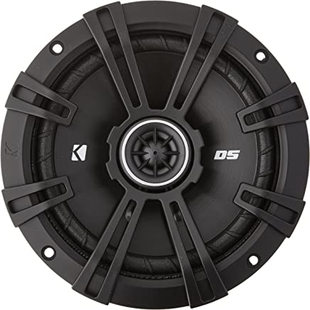 "Kicker DSC650 DS Series 6.5"" 4-Ohm Coaxial Speakers - Pair"