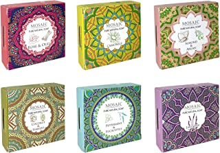 Mosaic All Natural Soaps w/Organic Ingredients, Shampoo Bar Soap, Vegan Soap, Cold Pressed, Hand Soap, Body Soap Bars for ...