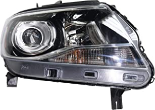 Headlight Compatible with CHEVROLET COLORADO 2015-2019 RH Assembly Halogen Projector Type (LT/Z71 with Luxury Pkg)/ZR2 Models - CAPA