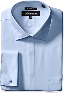 Stacy Adams Men's 39000 Solid Dress Shirt