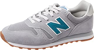 Tênis New Balance 373, Masculino, Cinza/Azul, 41