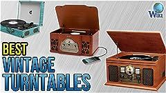 Amazon.com: Victrola Nostalgic Classic Wood 6-in-1 Bluetooth ...