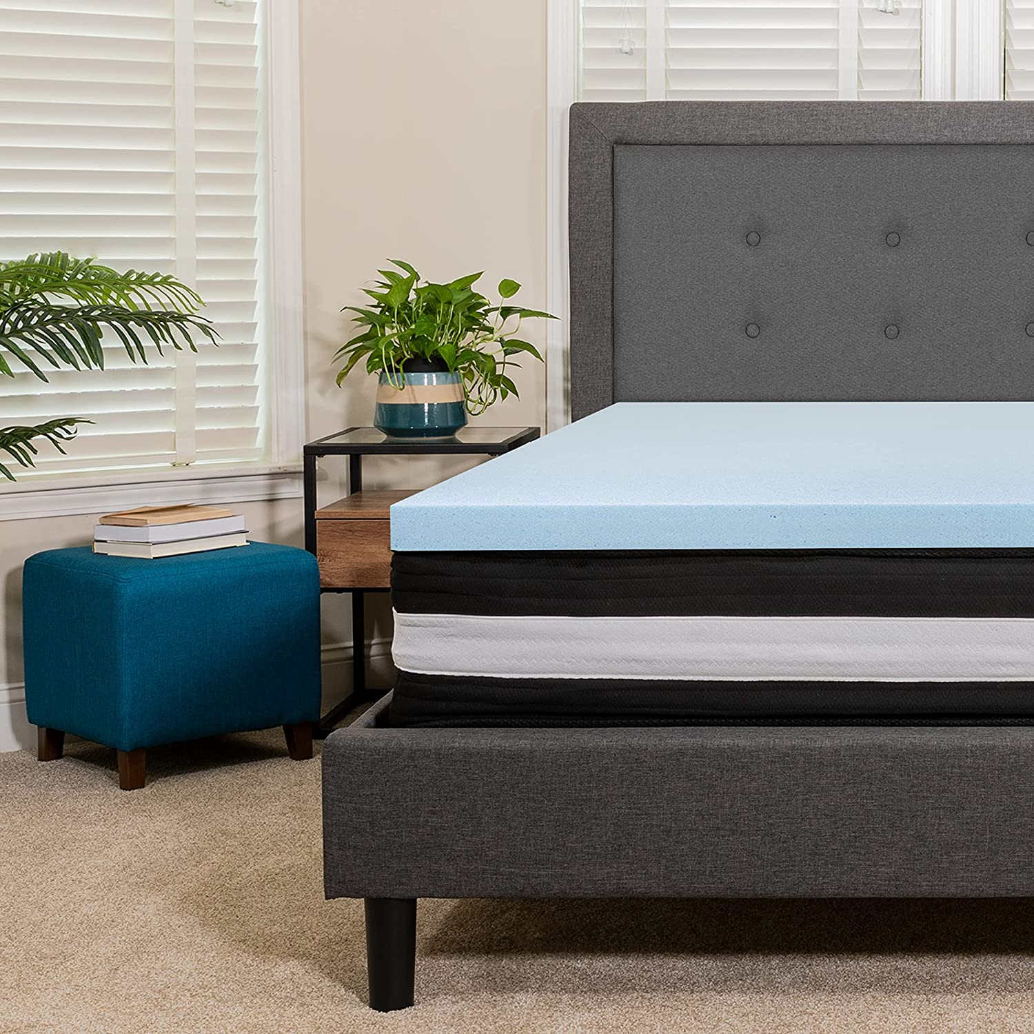 5% Directly managed store OFF Flash Furniture Capri Comfortable Sleep CertiPUR-US 10 King Inch