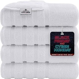American Soft Linen Premium, 100% Turkish Genuine Cotton Towel Set Luxury Hotel & Spa Quality for Maximum Softness & Absor...