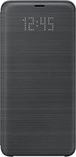Samsung Galaxy S9+ LED View Wallet Case, Black