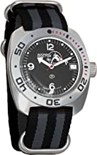 Vostok Amphibian Scuba Dude Automatic Mens Wristwatch Self-Winding Military Diver Amphibia Ministry Case Wrist Watch #710634