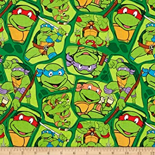 ninja turtle fabric by the yard