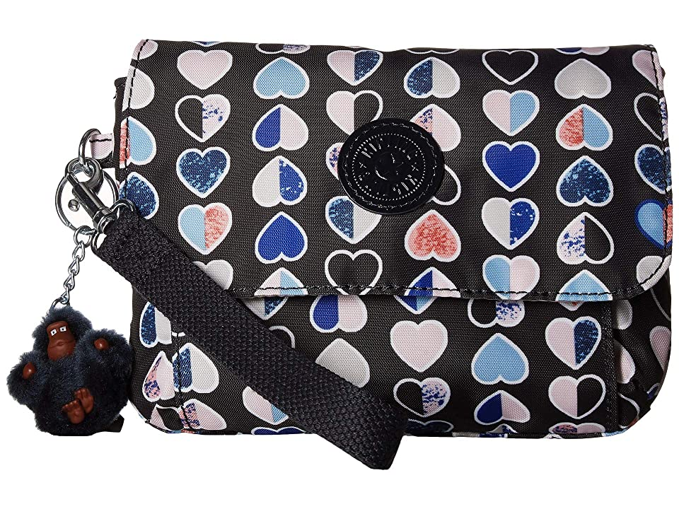 Kipling Selene Wristlet (Merry Hearts) Wristlet Handbags