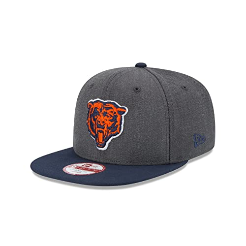 big sale f6021 fdf7c discount chicago bears 2018 sideline away 9fifty snapback 0ac7b aa2d1   official new era nfl historic heather graphite 9fifty original fit cap  bd123 79127