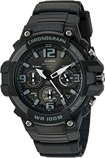 Men's Heavy Duty Chronograph Stainless Steel Quartz Watch...