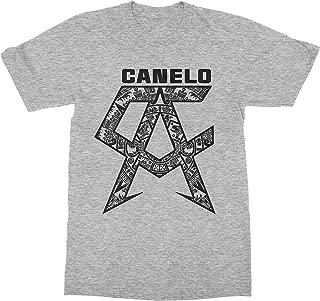 USA Threadz Canelo Shirt Saul Alvarez Grey
