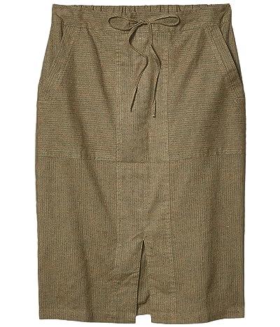 Prana Bristol Skirt (Slate Green) Women