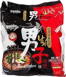 comprar comparacion Paldo coreana Namja Ramen 115g (paquete de 5)