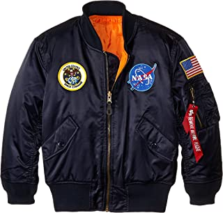Alpha Industries Big Boys' NASA MA-1 Bomber Jacket