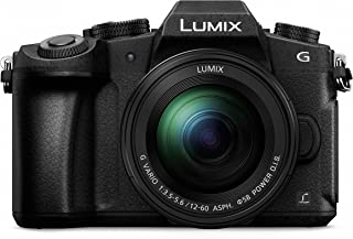 Panasonic LUMIX G85 4k Weather-Sealed Splash/Dustproof Video and Photo All-Rounder Micro Four Thirds Camera + Weatherproof...