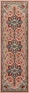 Well Woven Occhio Vintage Medallion Blush Pink Area Rug 2x7 (2'3