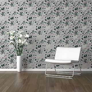 Tempaper Starlight Wildflower   Designer Removable Peel and Stick Wallpaper