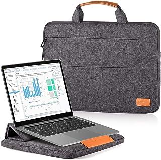 EasyAcc 13-13,3 Pollici Custodia Borsa PC Laptop Computer Portatile con Funzione Supporto Adattabile per MacBook Air Noteb...