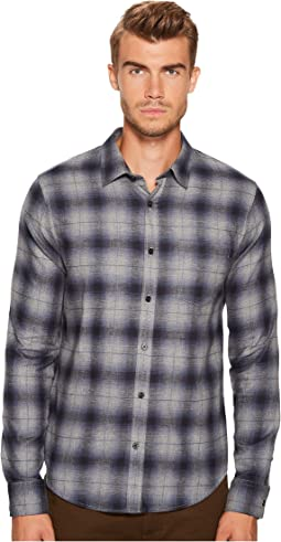 Vince - Window Shadow Plaid Long Sleeve