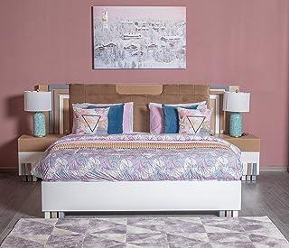 Danube Home Madeline King Bed Set, White - 180 x 200 cm