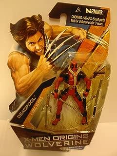 Hasbro X-Men Origins Wolverine Movie Series 3 3/4 Inch Action Figure Deadpool (No Shirt with Tatoos)