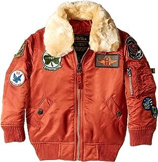 Alpha Industries Boys' Little Maverick Flight Jacket