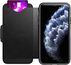 Tech21 Evo Wallet Phone Case for iPhone 11 Pro Max - Black (Renewed)