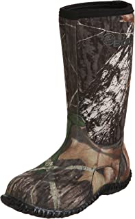 Bogs Kids Classic No Handles High Mossy Oak Winter Snow Boot, , 6 M US Big Kid
