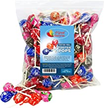 Tootsie Pops - 4 Pounds - Tootsie Roll Pops - Assorted Flavored Lollipops, Bulk Candy, Party Bag Family Size