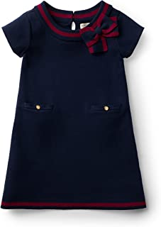 Girls' Milano Tipped Sweater Dress
