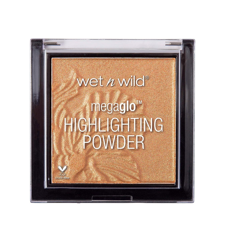 よろめくトロリーバス明らかにするWET N WILD MegaGlo Highlighting Powder - Awesome Blossom (並行輸入品)