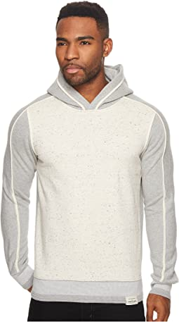 Scotch & Soda - Hooded Sweat in Mix & Match Quality with Binding Details