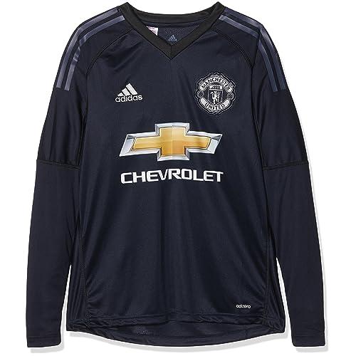 c2012bc9437 Adidas Children's Manchester United Goalkeeper Shirt