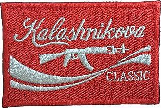"Klashnikova Classic 3"" by 2"" Morale Patch with Hook Fastener"
