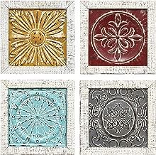 metal tile medallions