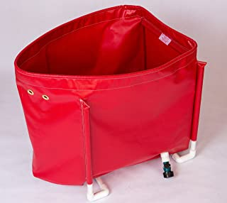 Outboard Motor Flushing Bag Model SDB2 for Large Outboard Engines up to 200 HP & Stern drives. Made in the USA.
