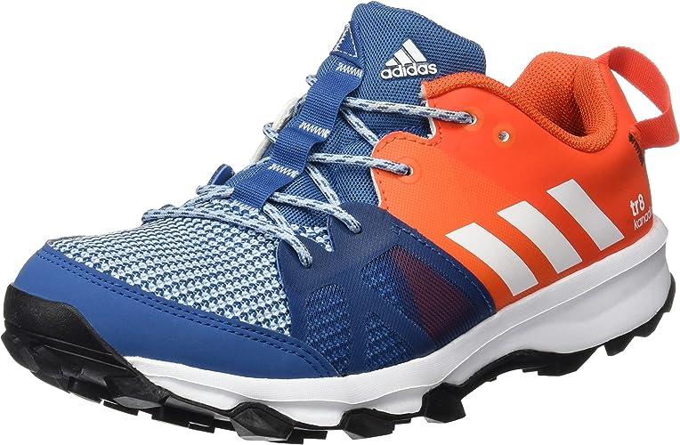 Adidas Kanadia 8 K, Chaussures de Course Mixte Enfant