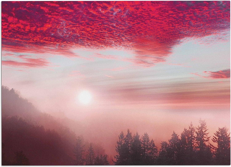 KESS InHouse Viviana Gonzalez Pastel Vibes 28  Pink Brown Photography Dog Place Mat, 24  x 15