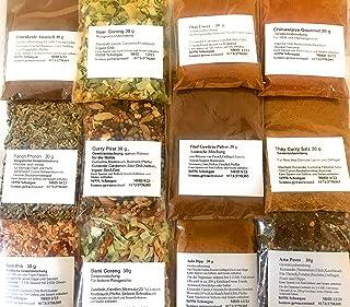 Bami Goreng, Nasi Goreng ,Thai Curry, Curry Pirat 12 Teilige