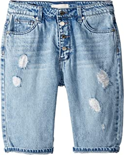 Anita Distressed Bermuda Shorts (Big Kids)