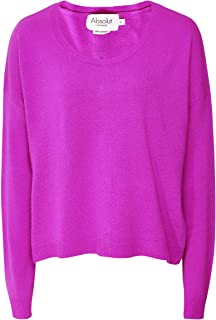 Absolut Cashmere Women's Cashmere Sapin Jumper Purple