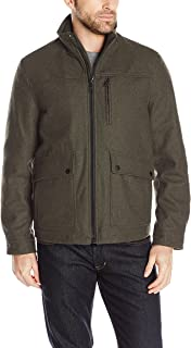Nautica Men's Wool Melton Jacket