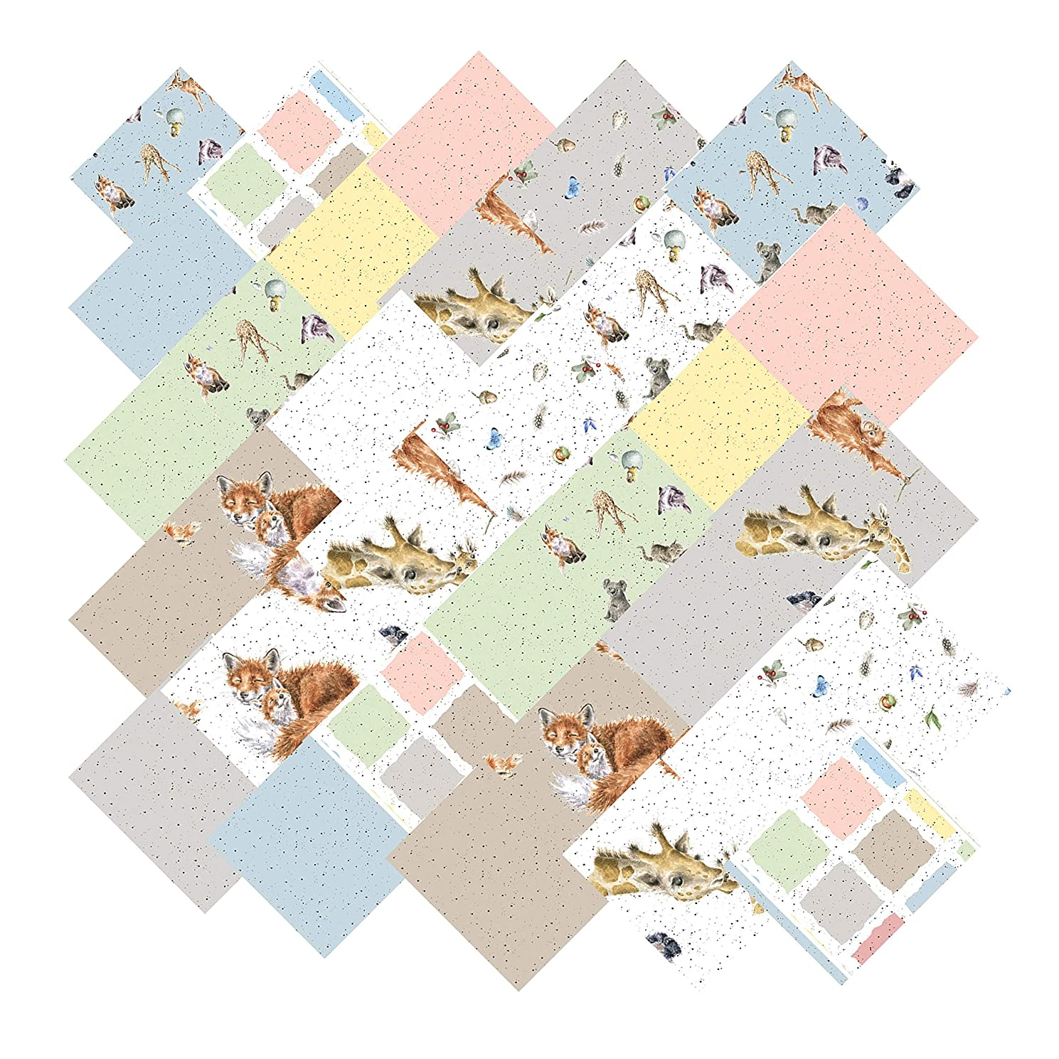 Hannah Dale Love is… Charm Pack 42 5-inch Squares Maywood Studio