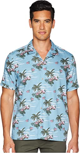 Ted Baker Bliss Short Sleeve Tropical Pattern Shirt